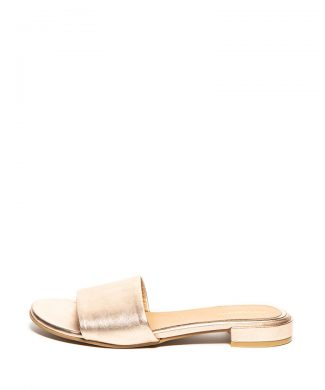 Papuci de piele - cu aspect metalizat Cabourg-papuci-Gioseppo
