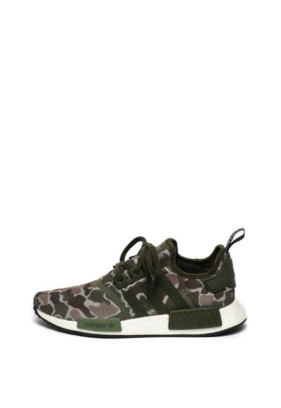 Pantofi sport slip on cu model camuflaj-tenisi-Adidas ORIGINALS