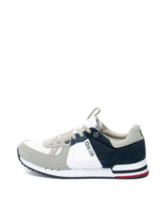 Pantofi sport cu garnituri de piele intoarsa-tenisi-BIG STAR