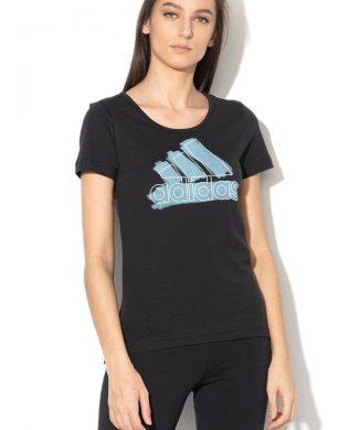 Tricou cu imprimeu logo BOS Special-tricouri-Adidas PERFORMANCE