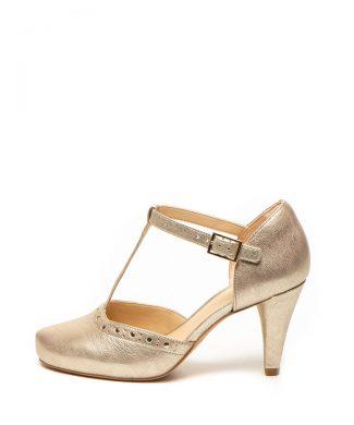 Pantofi de piele cu bareta T Dalia Leah-pantofi clasici-Clarks