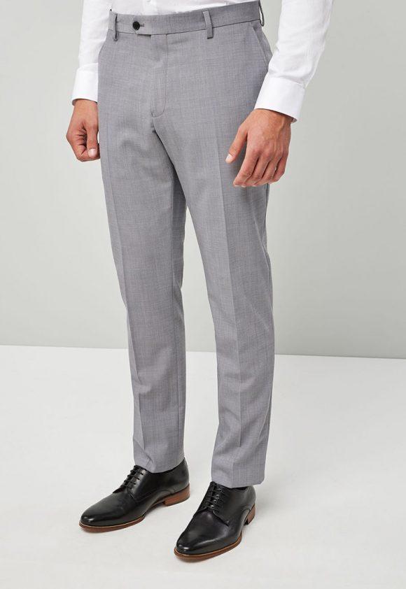 Pantaloni slim fit eleganti din amestec de lana 6-pantaloni-NEXT