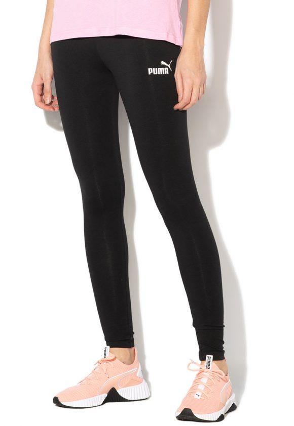 Colanti cu logo - pentru fitness Essentials-Pantaloni si salopete-Puma