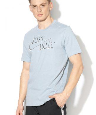 Tricou cu decolteu la baza gatului si logo-tricouri-Nike