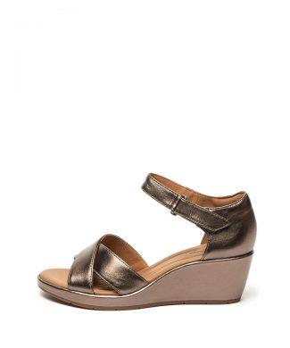Sandale wedge de piele Plaza-sandale-Clarks