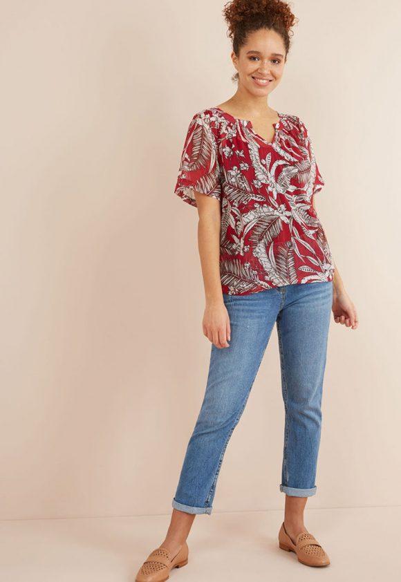 Bluza cu imprimeu-bluze-NEXT
