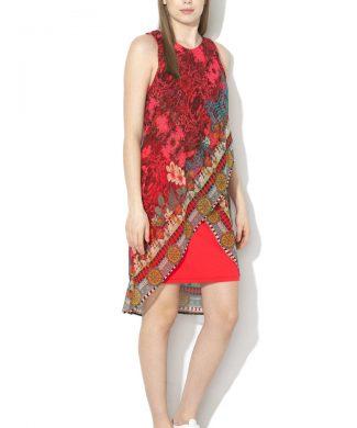 Rochie cu diverse imprimeuri Monique-rochii-DESIGUAL