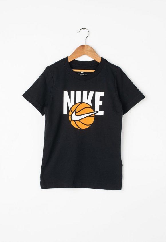 Tricou cu imprimeu logo - pentru baschet-tricouri-Nike