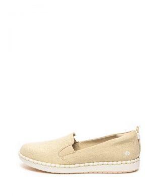 Pantofi slip on cu aspect stralucitor Step Glow-pantofi clasici-Clarks