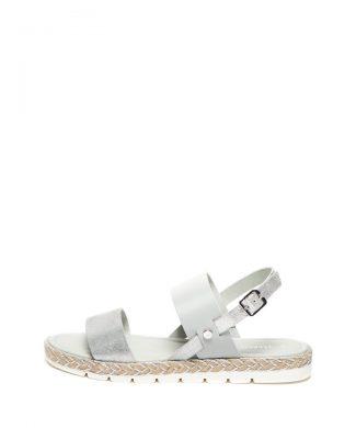 Sandale de piele cu detalii stralucitoare-sandale-Marco Tozzi
