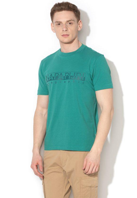 Tricou cu imprimeu logo Sevora-tricouri-Napapijri