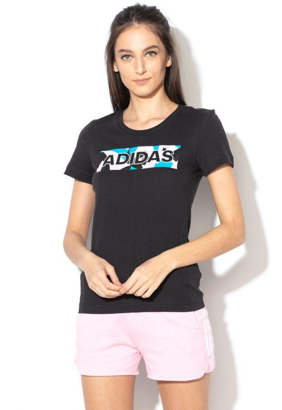 Tricou cu imprimeu logo-tricouri-Adidas PERFORMANCE