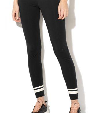 Colanti cu detalii peliculizate - pentru fitness-Pantaloni si salopete-Nike