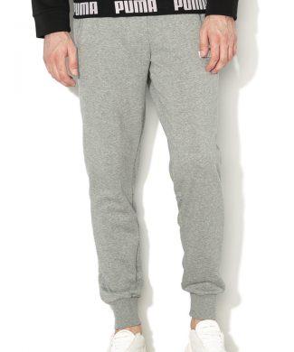 Pantaloni cu detaliu logo - pentru antrenament Amplified-Pantaloni si salopete-Puma