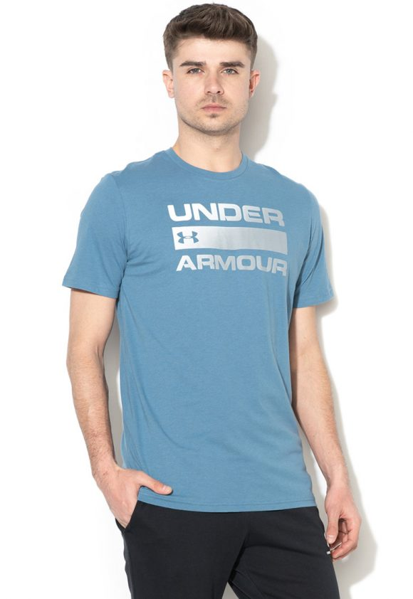 Tricou lejer - pentru fitness Team Issue Wordmark HeatGear-tricouri-Under Armour