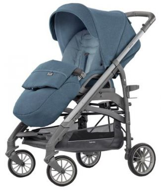 Carucior 3 in 1 Inglesina Trilogy Quattro Artic Blue