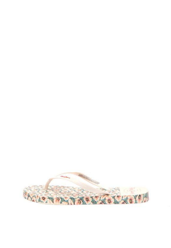 Papuci flip-flop cu imprimeu floral Rake Daly-papuci-Pepe Jeans London