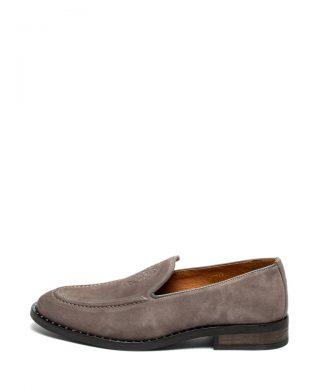 Pantofi loafer de piele intoarsa-mocasini-Guess