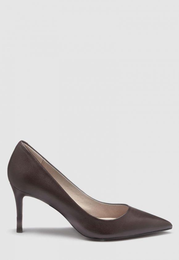 Pantofi stiletto de piele cu varf ascutit-pantofi clasici-NEXT