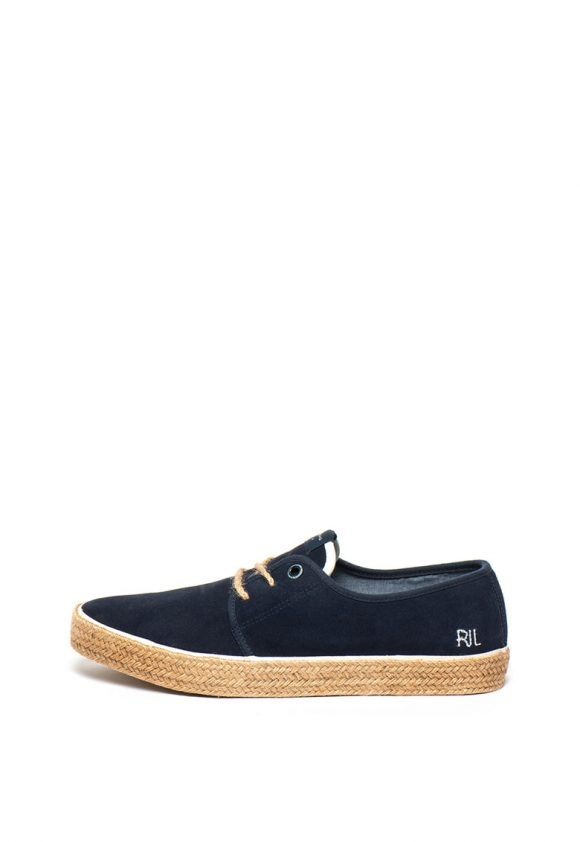 Pantofi tip epadrile de piele intoarsa Sailor-pantofi clasici-Pepe Jeans London