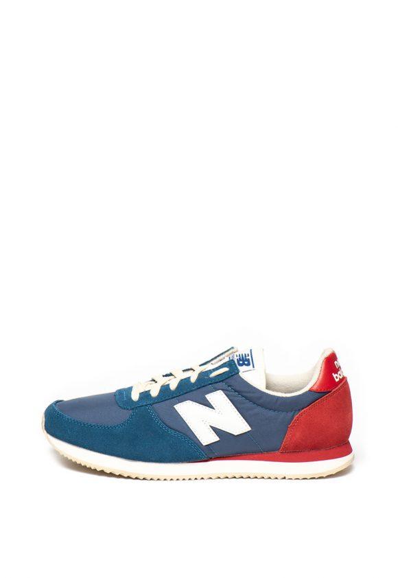 Pantofi sport cu inertii de piele intoarsa-tenisi-New Balance
