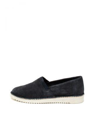 Pantofi slip-on de piele intoarsa Dayan-mocasini-Geox
