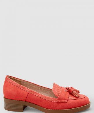 Pantofi loafer de piele ecologica-mocasini-NEXT