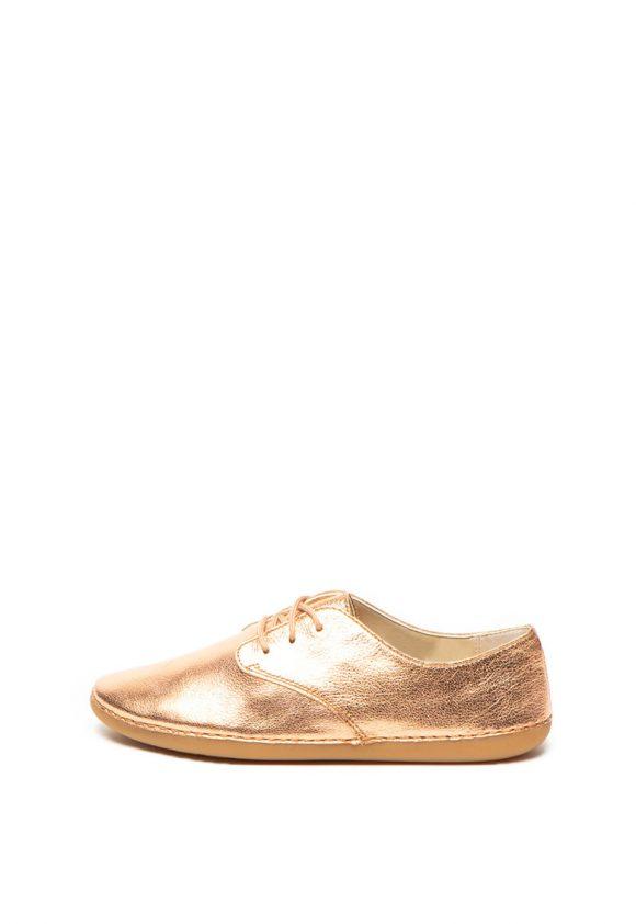 Pantofi de piele cu aspect stralucitor Skylark-pantofi clasici-Clarks
