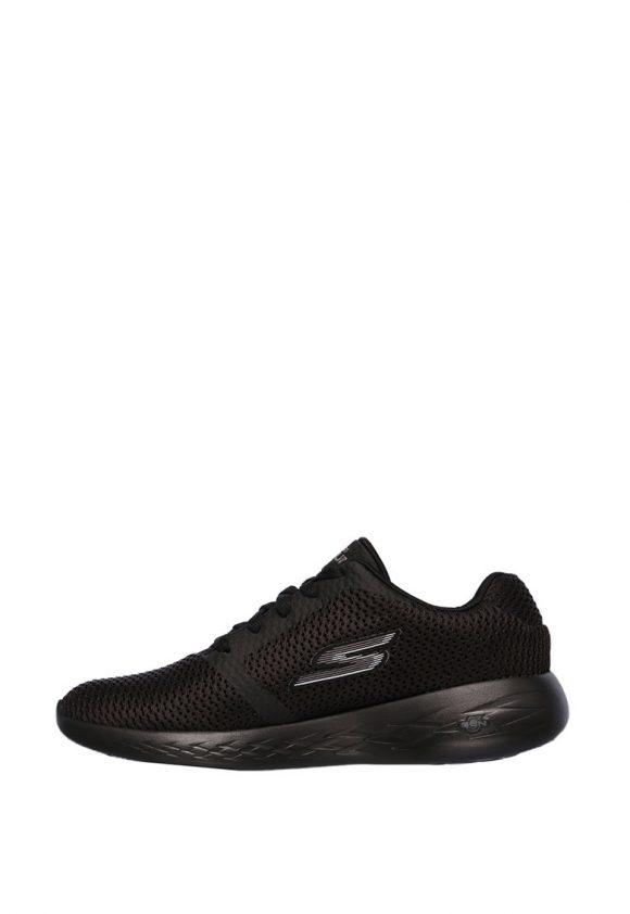 Pantofi sport de plasa cu aspect tricotat si amortizare Go Run 600 Refine-tenisi-Skechers