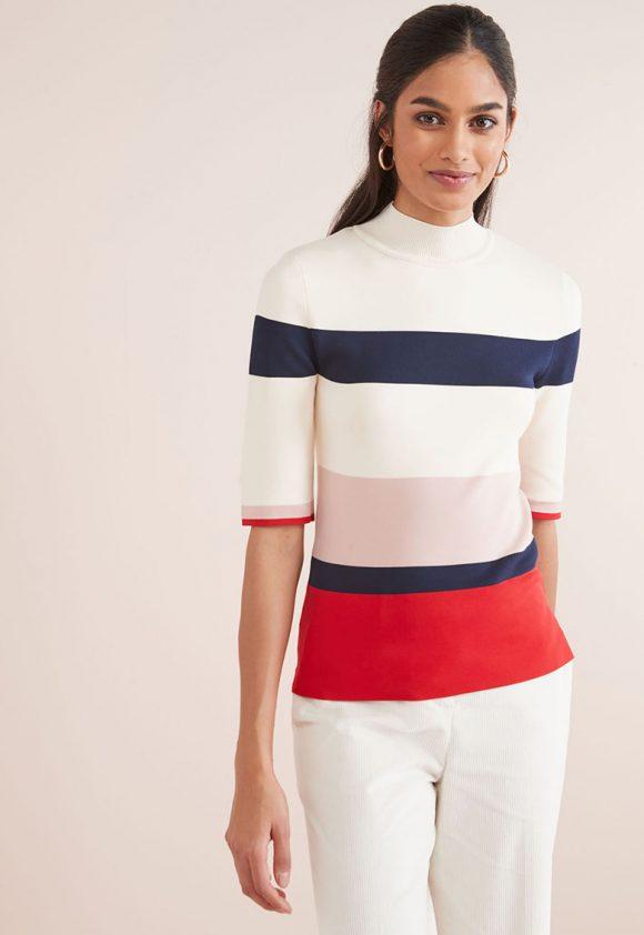 Bluza cu model colorblock-bluze-NEXT