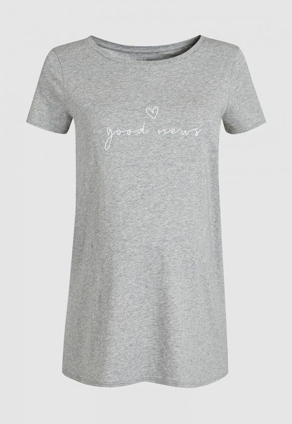 Tricou cu broderie pentru gravide-tricouri-NEXT