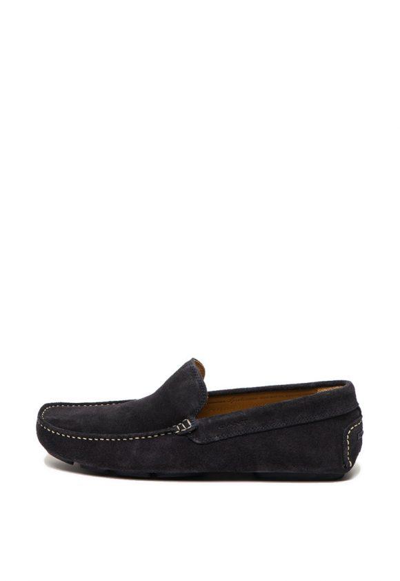 Pantofi loafer de piele intoarsa Austin-mocasini-Gant