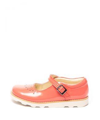 Pantofi Mary Jane de piele lacuita Crown Jump-pantofi clasici-Clarks