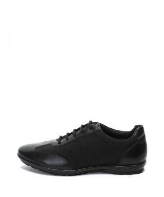 Pantofi casual cu insertii de piele Symbol-pantofi clasici-Geox