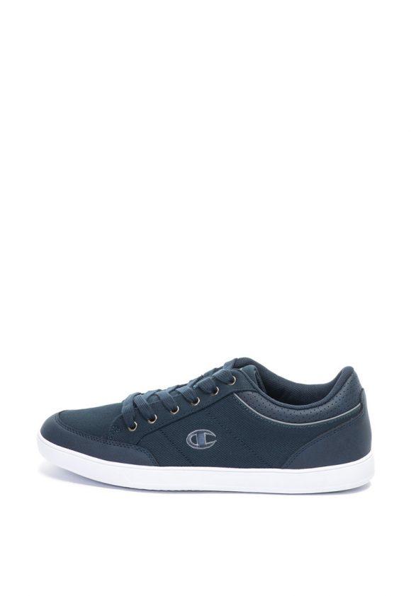 Pantofi sport de piele ecologica si material textil Deck2-tenisi-Champion