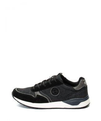 Pantofi sport de denim - cu garnituri de piele intoarsa-tenisi-BIG STAR