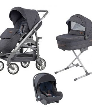 Carucior 3 in 1 Inglesina Trilogy Quattro Village Denim-Inglesina