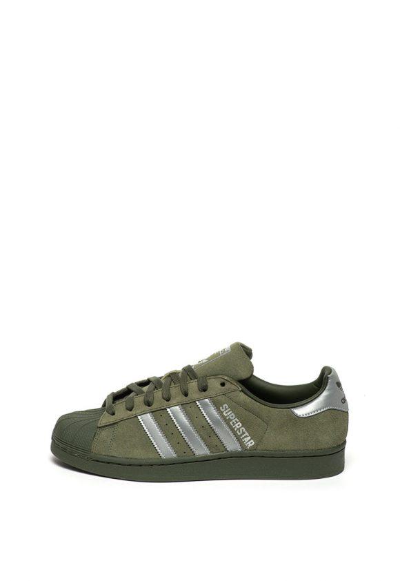 Pantofi sport de piele intoarsa Superstar-tenisi-Adidas ORIGINALS