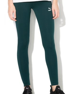 Colanti cu dungi laterale contrastante Classics-Pantaloni si salopete-Puma