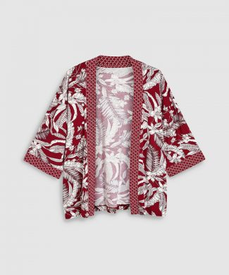 Chimono cu imprimeu floral-sacouri-NEXT