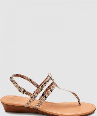 Sandale wedge cu bareta T-sandale-NEXT