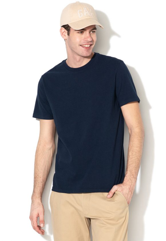 Tricou cu decolteu rotund-tricouri-GAP
