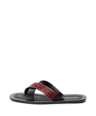 Papuci cu logo-papuci-Emporio Armani