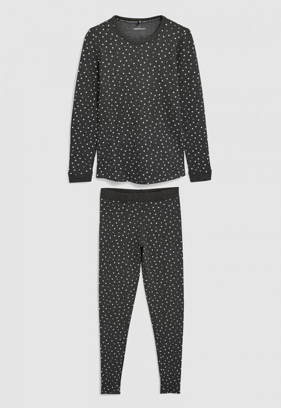 Set de bluza si colanti Trutherm™-pijamale si halate de baie-NEXT
