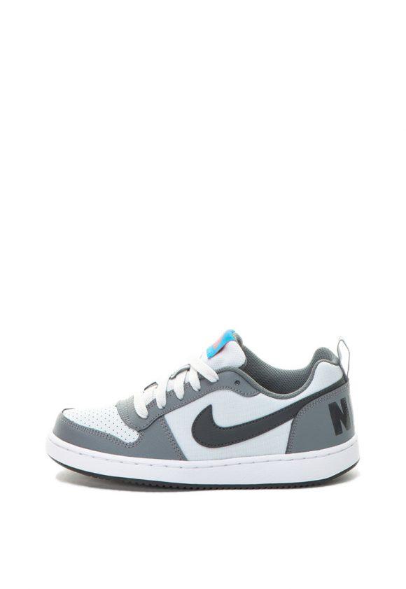 Pantofi sport cu insertii de piele Court Borough-pantofi clasici-Nike