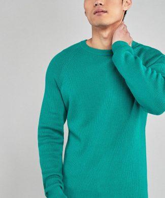 Pulover cu decolteu la baza gatului-tricotaje-NEXT