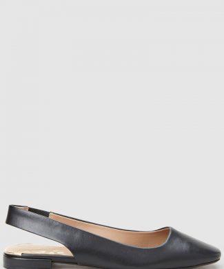 Pantofi slingback de piele ecologica-pantofi clasici-NEXT