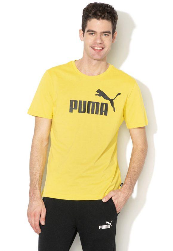 Tricou regular fit cu imprimeu logo Essentials-tricouri-Puma