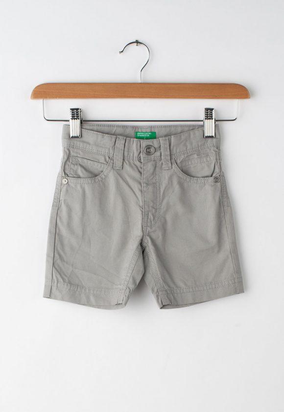 Bermude cu croiala straight fit-Pantaloni si salopete-United Colors of Benetton