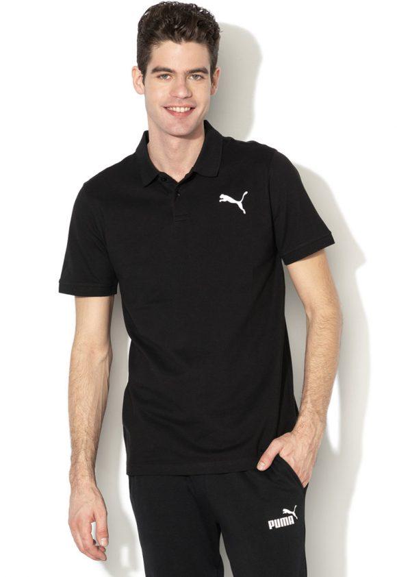 Tricou polo regular fit din pique-tricouri-Puma